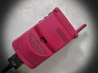 Motorola, Startac 308, 桃紅色限量版,100% working, 具收藏價值,大持賣,一減再减,現售$1080