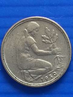 Germany 1 Pfenning 1950