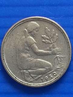 Germany 1 Pfenning 1950