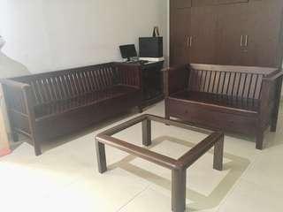 Kursi Kayu Jati Jepara Satu Set
