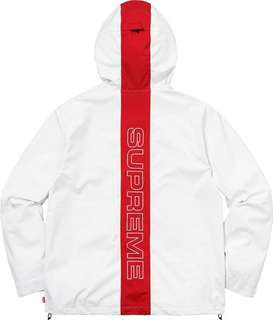 18ss supreme taped seam jacket size s 細碼