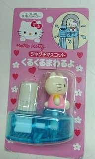 (舊物) Hello Kitty 手喉頭裝飾 罕有 購自日本 *當有水流經過,Hello Kitty公仔會不停自轉 *