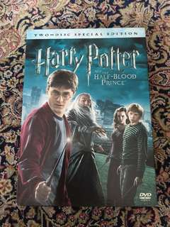 Harry Potter DVD The Half Blood Prince