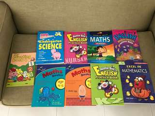 Pre-school assessment books