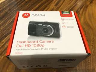 Motorola Dashboard Camera Full HD 1080p