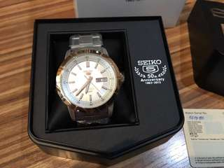 Jam Tangan Seiko Automatic 50th Anniversary Limited Edition Original 100%
