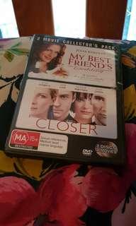 My best friends wedding & Closer DVD Set