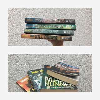 The Maze Runner Series (Minus The Fever Code)