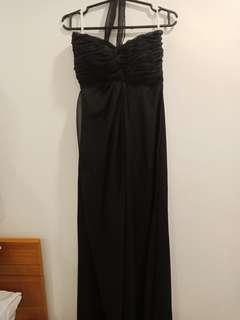 Plain Black Gown