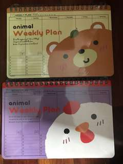 [NEW] Animal Weekly Plan