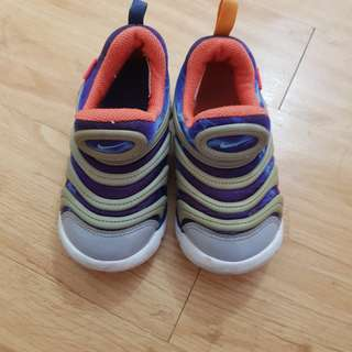 Nike Free Rubber Shoes 9c toddlers babies baby kids not roshe Run minimel