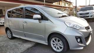 Perodua Alza 1.5 (Silver)