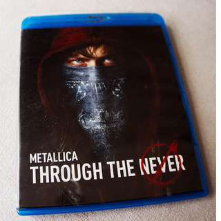 Metallica - Through The Never Blu Ray 2 Disk Edition