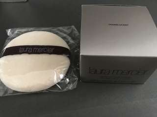 Laura Mercier loose powder + sponge