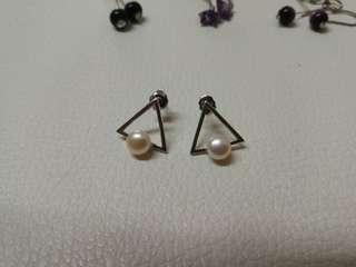 純銀耳環 earrings