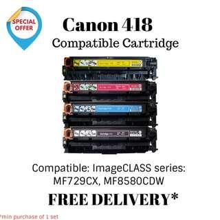 Canon 418 Compatible Printer Toner