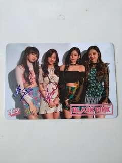 Blackpink Yescard 36期 彩簽