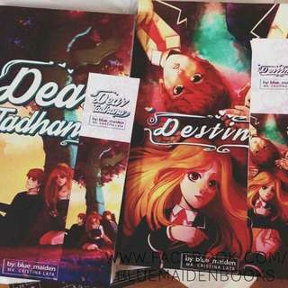 Destined and dear tadhana self published by tina lata blue maiden