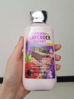 Bath & Body Works French Lavender and Honey Body Lotion