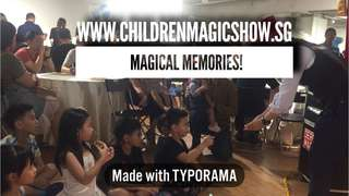 Interactive Magic show Balloon sculpting facepainting partyplanner