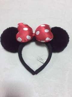 Authentic minie mouse headband