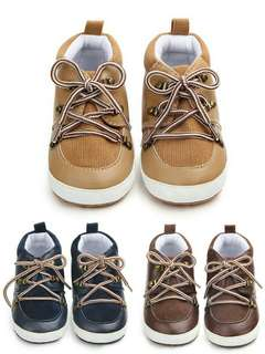 🍀Baby Boy PU Suede Not Slip Casual Shoes🍀