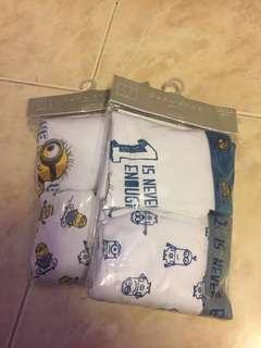 Zara Boys Underwear (Minions)
