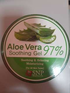Price for 2 Aloe Vera Soothing Gel 97%