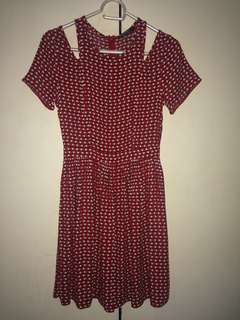 Miss Selfridge Polkadots Dress