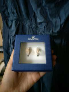 Swarovski Earrings Authentic!