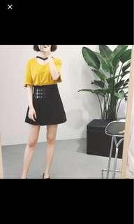 kilt-style skirt
