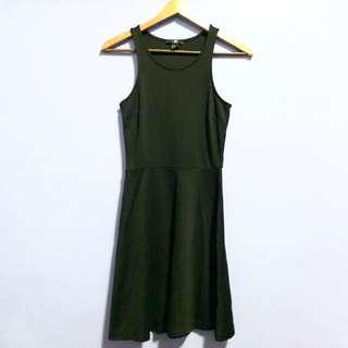 H&M Black Racerback Dress