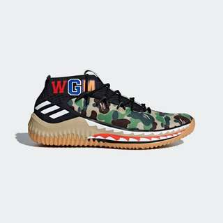 🔥In Stock🔥UK8.5/9/10/10.5 Bape Dame 4 (Green)