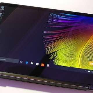 Laptop Lenovo Yoga 310 dualcore bisa di cicil tanpa kartu credit (asus