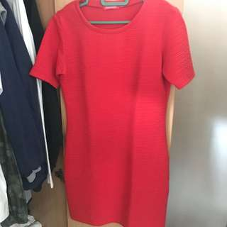 Red Body-con  Dress