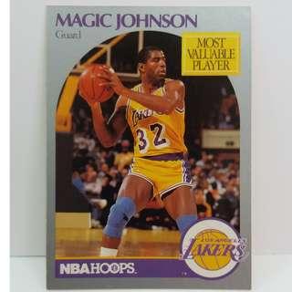 "Rare 1990 NBA Card MVP Earvin ""Magic"" Johnson, Jr."