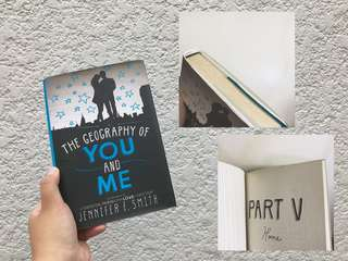 The Geography Of You and Me (Hardcover)