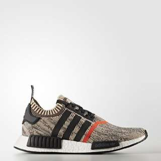 🔥In Stock🔥 UK10/10.5 NMD R1 PK AI Camo Black Orange