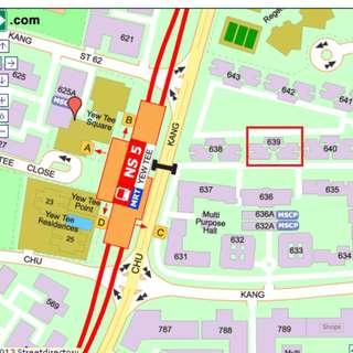 4 room DBSS @ CCK St 64 (Opp Yew Tee MRT Station)