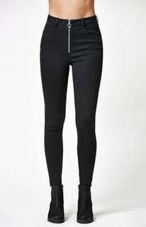 🚚 PACSUN 黑色牛仔褲✨🔥美國貨🇺🇸現貨💖Black high waisted jeans