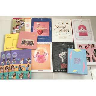 TWICE OFFICIAL ALBUMS MONOGRAPH DVD