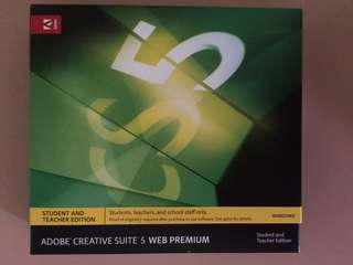 Genuine Adobe Creative Suite 5 Web Premium