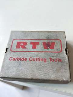 RTW cutting tools industrial machinery parts
