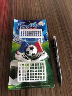 World Cup football toy set