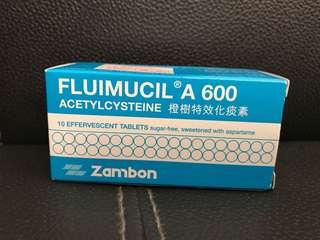 Fluimucil A 600