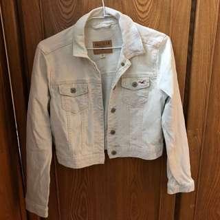 原價2800 Hollister淺藍牛仔外套