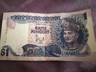 Satu Ringgit Malaysia