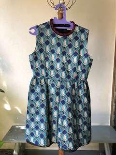 Unique Blue Dress