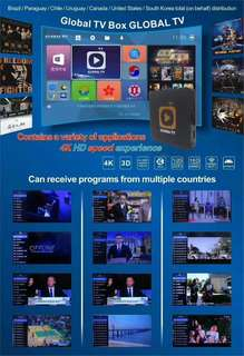 GLOBAL LIVE STREAM TV BOX