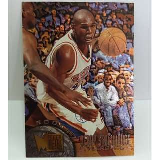 Rare 1996 Fleer Metal NBA Card Jerry Stackhouse